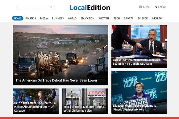 LocalEdition - News Magazine Theme