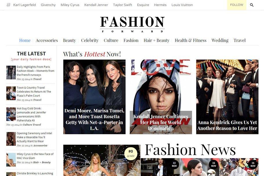 FashionForward - Fashion Magazine