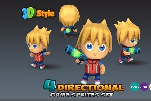 4- Directional Game Sprites