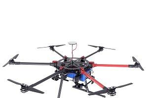 Dji s900 drone vray 3d model