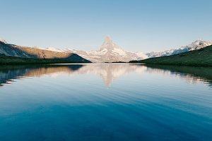 Matterhorn mountain in Alps