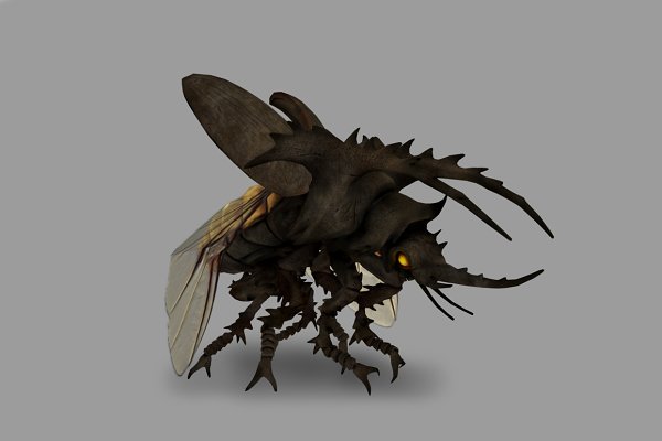 3D Fantasy: PROTOFACTOR  - GIANT BEETLE with Native File