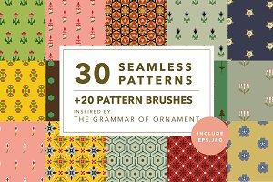 30 Vintage patterns