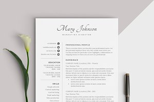 Resume Template | CV