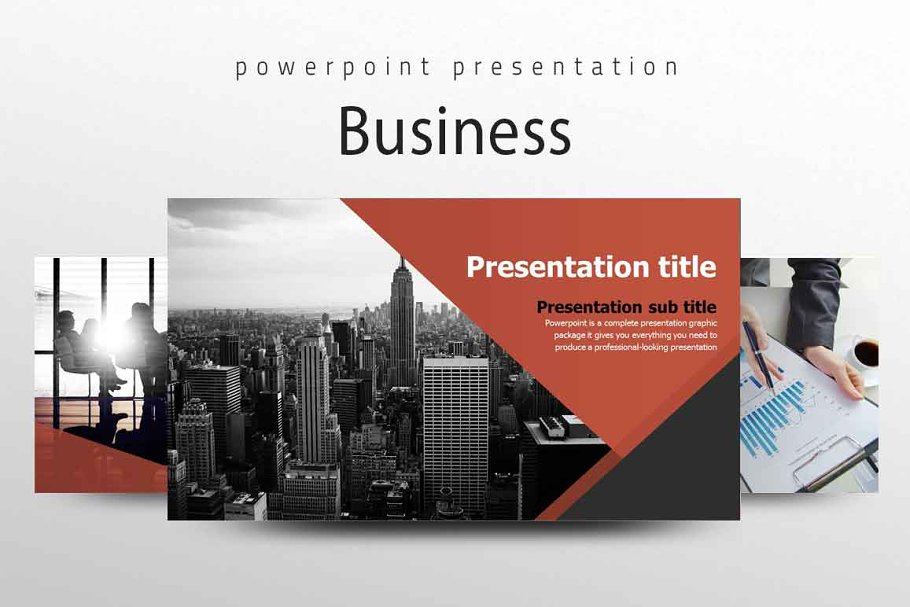 Template Powerpoint Background Ppt Bisnis - Contoh Gambar ...