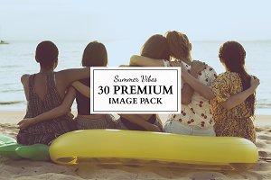 """30 premium images """"summer vibes"""""""