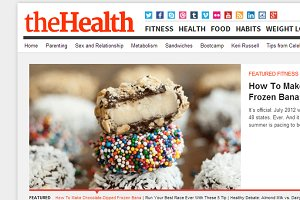TheHealth - Health Magazine Theme