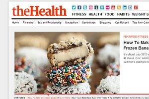 TheHealth - Health Magazine Theme