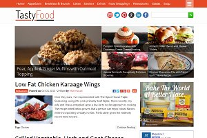TastyFood - Food Blogging Theme