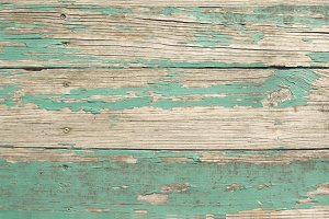 Weathered Wood and Paint