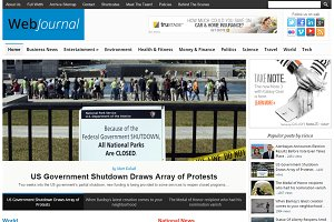 WebJournal News Magazine Theme