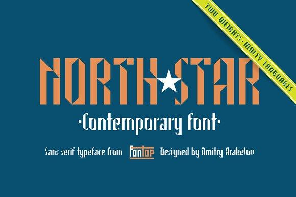 North Star sans serif typeface