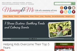 Mommy&Me Mom Blogging Theme