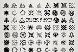 Celtic Knots & Ornaments Vector Pack