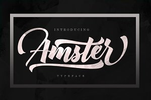 Amster (FontDuo)