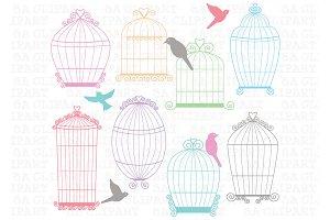 Birdcages clipArt