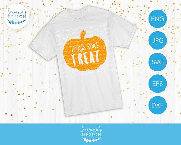 Trick Or Treat Pumpkin SVG