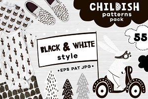 Childish patterns pack