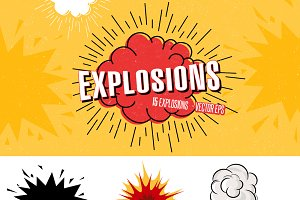 Explosion, Bombs and Blast Set