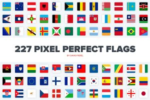 Pixel Perfect Flags