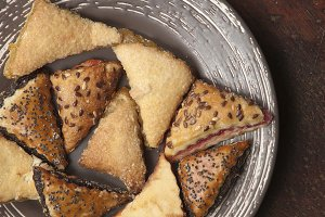 Shortbread cookie assortment