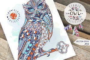 Ethnic Collection: Owl