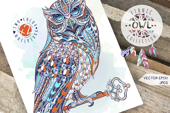 Ethnic Collection Owl
