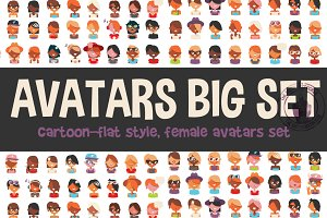 Different Types Of Women Avatars