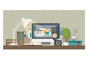 Creative Workplace illustration
