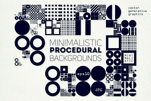 Procedural Art Backgrounds