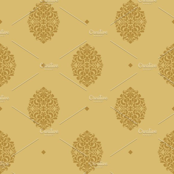 Vintage Seamless Background Baroque