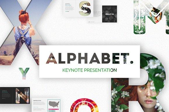 Alphabet Keynote Presentation