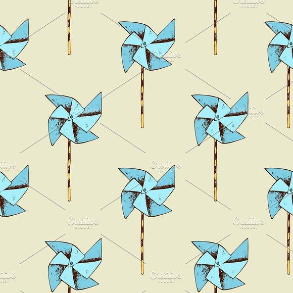 Paper Windmill Pattern