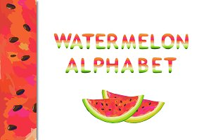 Sweet and Juicy WATERMELON ABC