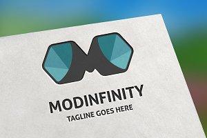 Modinfinity (Letter M) Logo