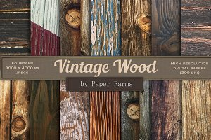 Vintage wood backgrounds