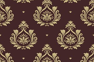 Royal seamless background