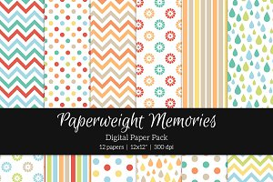 Patterned Paper - Childhood Dreams