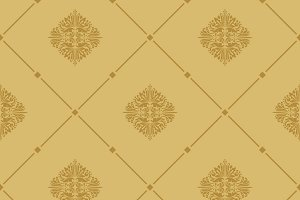 Royal seamless pattern design