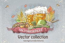 Oktoberfest vector collection