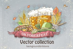 Oktoberfest vector collection