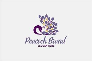 Peacock Brad Logo