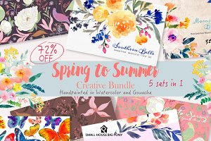 72% OFF - Spring To Summer Creative