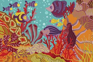 Coral Reef illustration