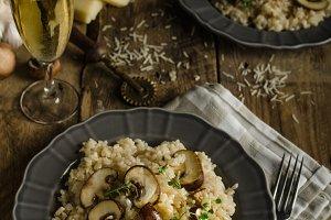 Original italian risotto
