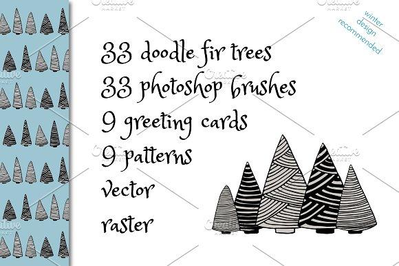 FIR TREE FOREST SET