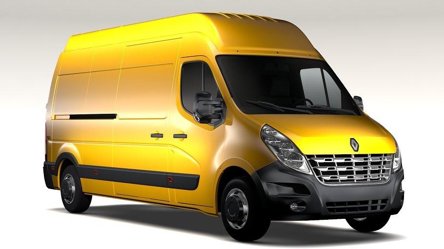 Renault Master L3H3 Van 2010