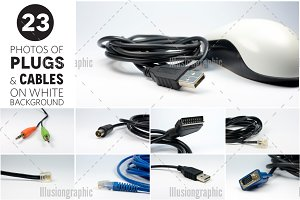 23 Photos of Plugs, Cables and Wires
