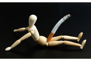 Smoking Manikin