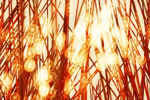 Diagonal holiday fireworks illustration background